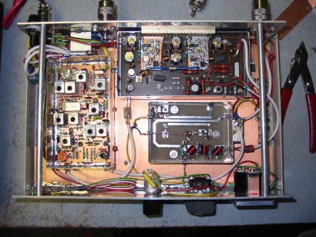 Hotový transvertor na 70MHz