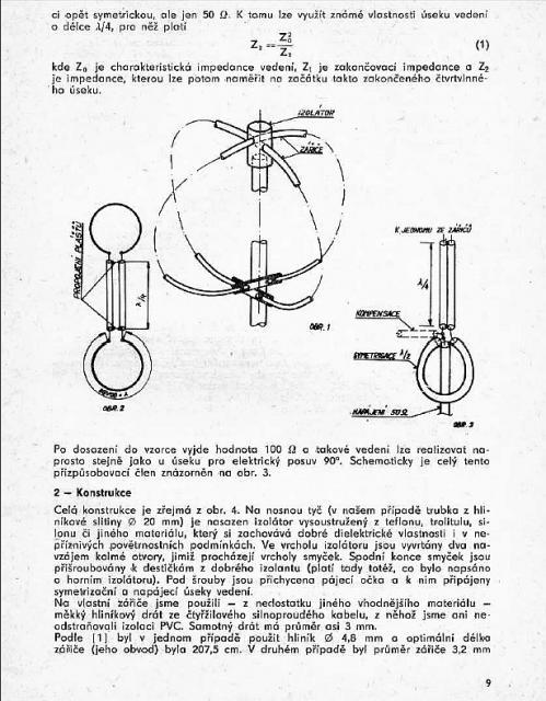 144MHz omnidirectional antenna