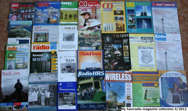 Hamradio magazine collection 2012