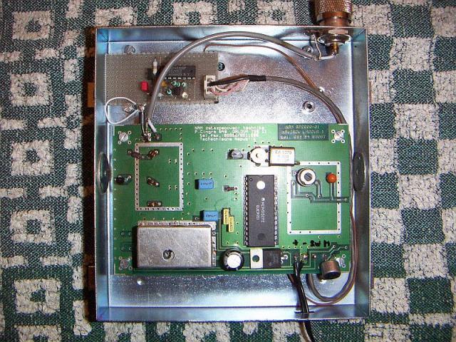 VOX inside transmitter